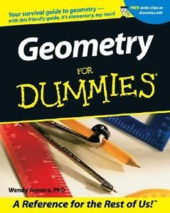 Geometry for Dummies® by Wendy Arnone (2...