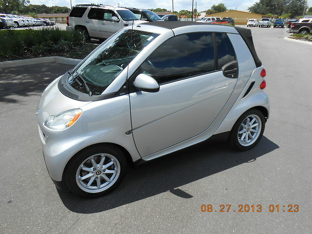 2009 smart car passion cabriole convertible automatic used smart other for sale in lake. Black Bedroom Furniture Sets. Home Design Ideas