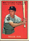 Topps Baseball Cards 1961 Season