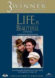 Life Is Beautiful (DVD, 1999, Collectors Edition)  Roberti Benigini