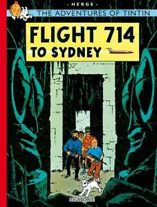 Flight-714-to-Sydney-by-Herge-Hardback-2003