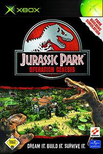 XBOX Spiel Jurassic Park Operation Genesis mit Anleitung guter Zustand + OVP
