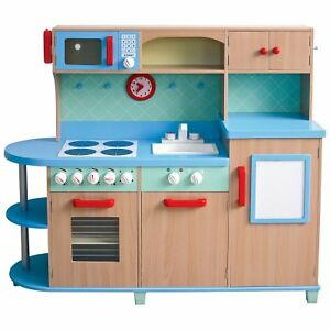 10 things children learn from play kitchens ebay for Play kitchen designs