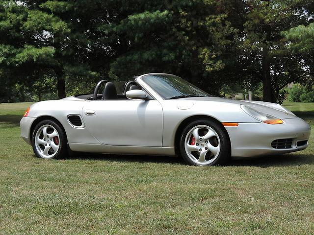 2000 porsche boxster s roadster 2dr convertible 6 speed low miles used porsche boxster for. Black Bedroom Furniture Sets. Home Design Ideas