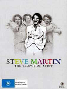Steve Martin - The Television Stuff (DVD, 2013, 3-Disc Set)