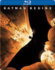 Batman Begins (Blu-ray Disc, 2012, Steelbook)