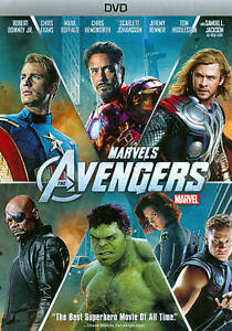 THE AVENGERS  (DVD, 2012) - NEW SEALED DVD