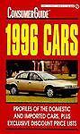 Cars Consumer Guide 1996, Consumer Guide Editors, 0451186761