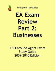 ea exam review part 2 businesses irs enrolled agent exam study rh ebay com free ea exam study guide enrolled agent exam study guide free