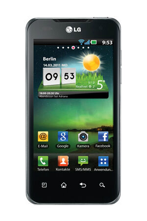 LG Optimus Speed: Wie nutze ich die 50 GB kostenlosen Onlinespeicher?