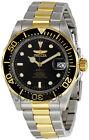 Invicta Gold Plated Strap Analog Round Wristwatches