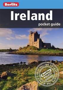 Berlitz: Ireland Pocket Guide (Berlitz Pocket Guides), Very Good Condition Book,
