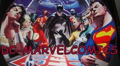 DC-MARVELComics & Collectibles
