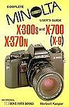 Minolta X300/X700/X-370N/X9, Herbert Kaspar, 0906447720