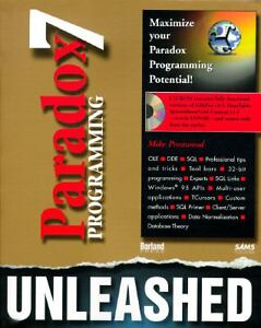 Paradox-7-Programming-Unleashed-by-Mike-Prestwood-1996-CD-ROM-Paperback