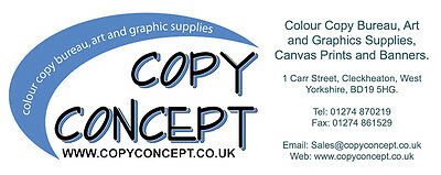Copy Concept Supplies