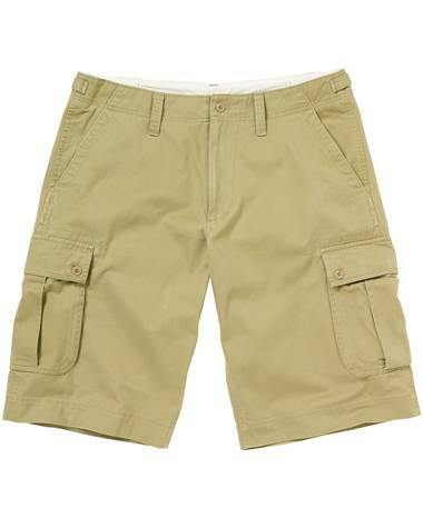 Khaki Cargo Shorts For Women