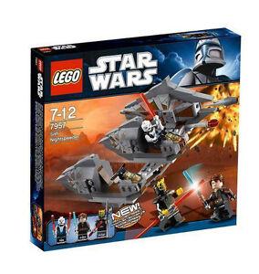 Lego Sith Nightspeeder 7957 Anakin Skywalker Asajj Ventress Savage Opress New