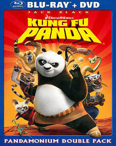 KUNG FU PANDA (Blu-ray/DVD, 2011, 2-Disc Set) NEW WITH SLEEVE