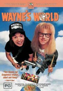 Wayne-039-s-World-DVD-2002-R4-Like-New