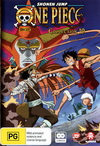 One Piece - Uncut : Collection 19: Eps 230-241 (DVD, 2013, 2-Disc Set)New/Sealed