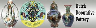 dutch decorative gouda pottery