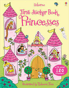 Princesses (Usborne First Sticker Books), Jessica Greenwell - Paperback Book NEW