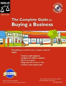 The complete guide to buying a business by fred s steingold 2005 cd