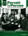 Person to Person, Jack Richards and Genevieve Kocienda, 0194302180