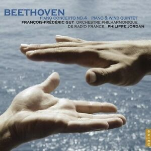 BEETHOVEN: PIANO CONCERTO NO. 4; PIANO & WIND QUINTET NEW CD SEALED