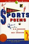 American Sports Poems, May Swenson, 0531083535