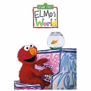 Elmo's World - Dancing, Music, and Books, New DVD, Martin P. Robinson, Fran Bril