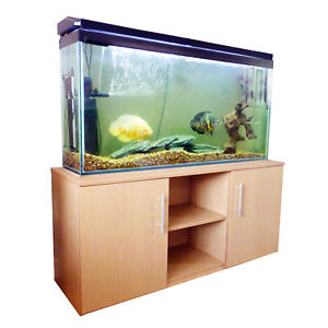 4ft fish tank aquarium stand cabinet ebay for Double fish tank stand