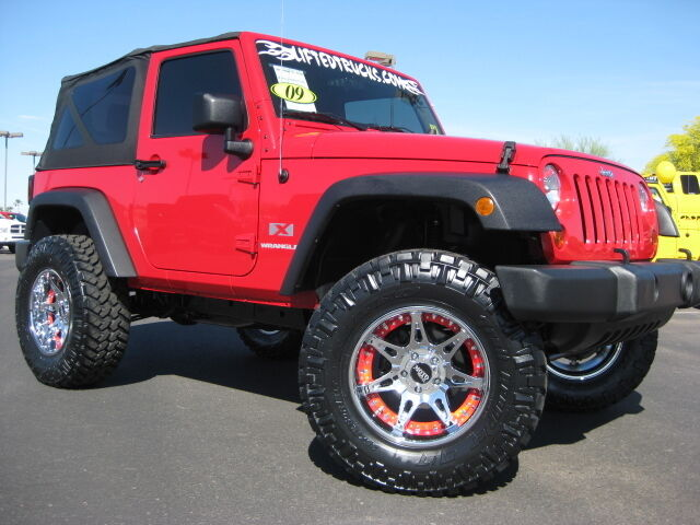 used 2009 jeep wrangler x sport 2 door 4x4 lifted one onner for sale 2021 e bell road. Black Bedroom Furniture Sets. Home Design Ideas