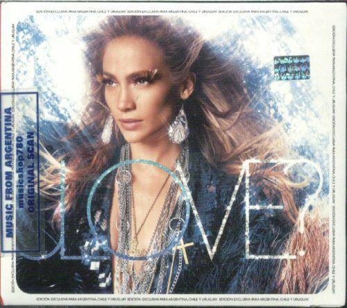 jennifer lopez love deluxe cover. JENNIFER LOPEZ, LOVE? – DELUXE EDITION + 5 BONUS TRACKS. FACTORY SEALED CD.