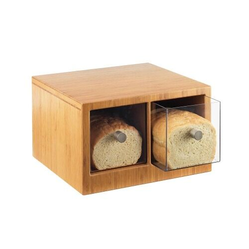 extra large wooden bread box 2