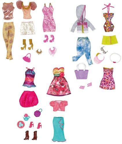 barbie puppen kleider