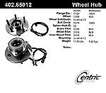 Centric 402.65012E Standard Axle Bearing And Hub Assembly