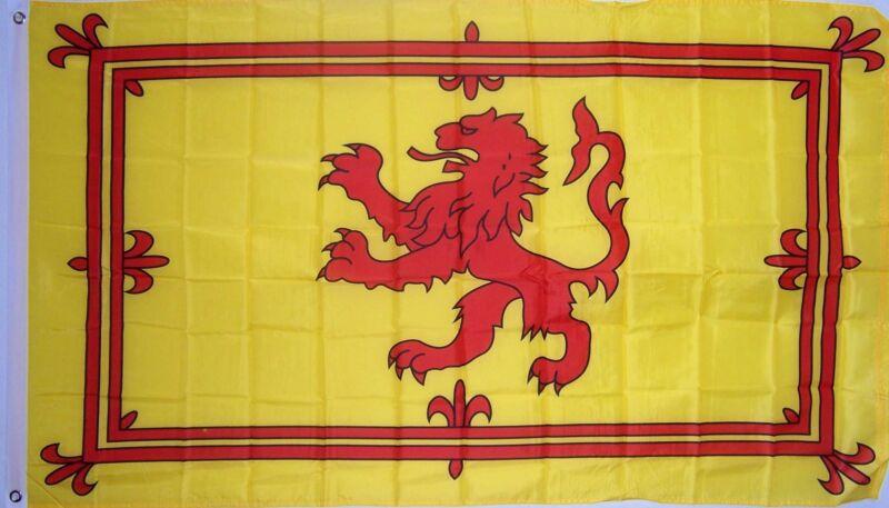 NEW 2x3 ft SCOTLAND LION SCOTTISH FLAG better quality usa seller