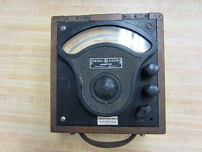 General Electric 3613088 Antique Amp Meter Vintage Industrial 39063