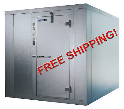 8x10 Nominal Walk In Freezer With Floor - Free Shipping