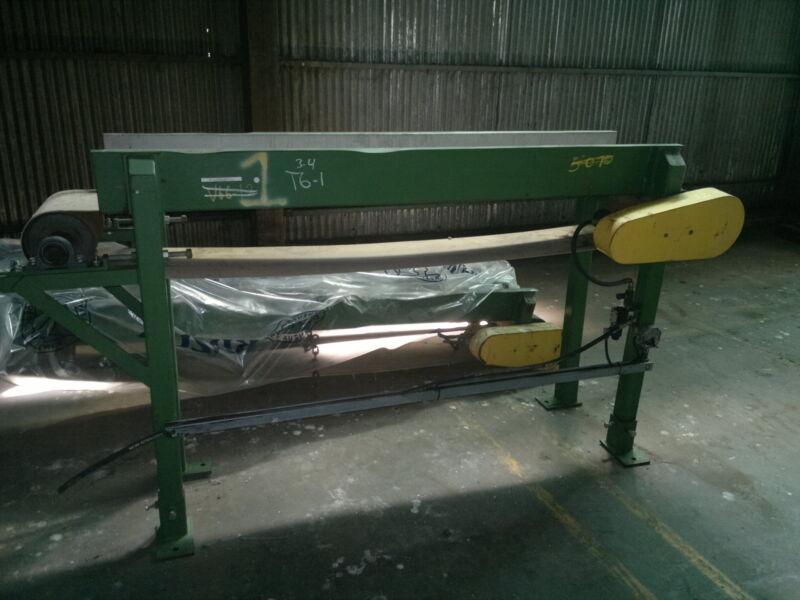 "RAM-TECH 14"" x 100"" belt conveyor, with hydraulic drive"