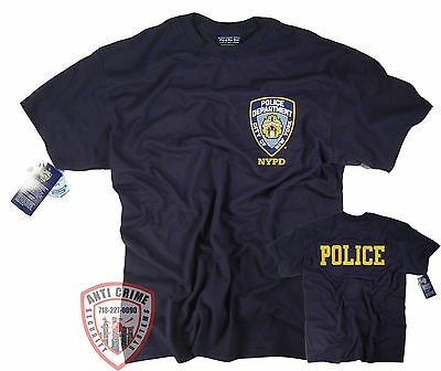 City Shirts (NYPD T-Shirt Officially Licensed by The New York City Police)