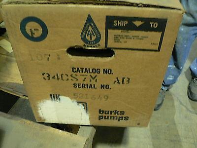 Burks Cs Boiler Feed Pump 34cs7m-ab 13 Hp Single Phase 115208-230