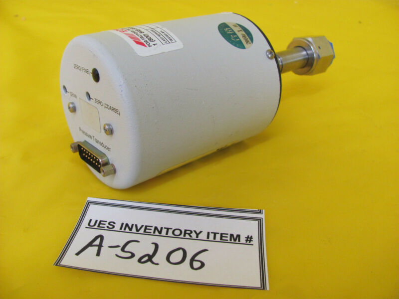 Edwards W65511611 Barocel Pressure Sensor 1 Torr Transducer Tested Working