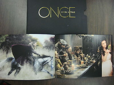 ONCE UPON A TIME EMMY DVD TV SERIES 4EPISODES +PICTURE BOOKLET JENNIFER MORRISON