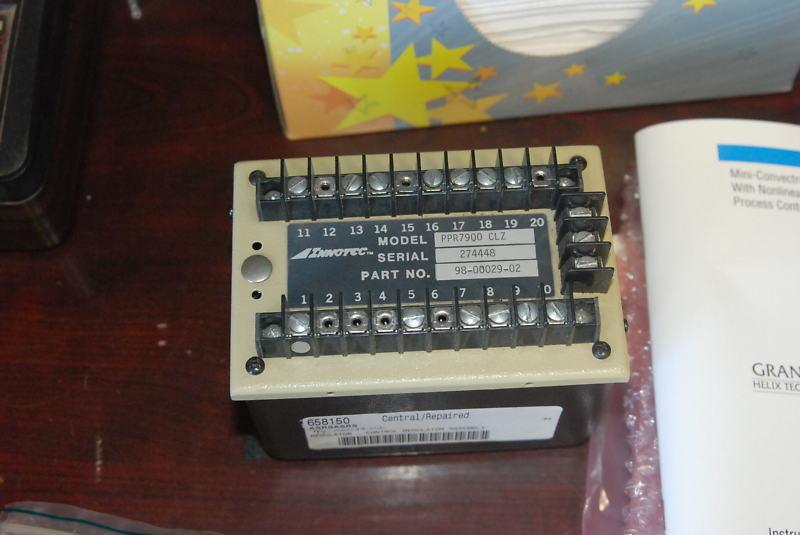Innotec PPR7900-CLZ, 98-00029-02, Repaired SCR control