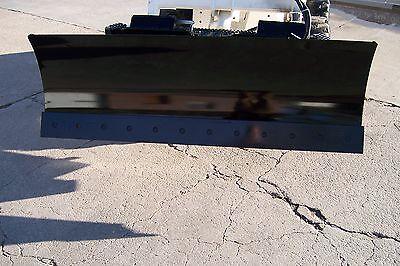 New Heavy 66 Four Way Dozer Blade Plow For Skid Steer Fits John Deere Bobcat