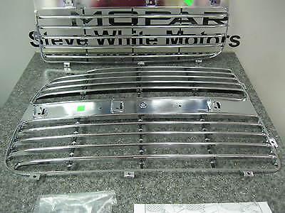 Dodge Ram 1500 2500 3500 Chrome Grille Insert Same As Production Mopar Oem