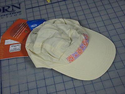 cap outdoor sports ball hat O S coolmax supplex made USA light yellow USA  kayak e7f71d57a544